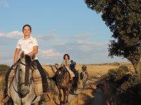 Ruta infantil a caballo