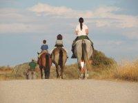 Sanctuaries with horses route