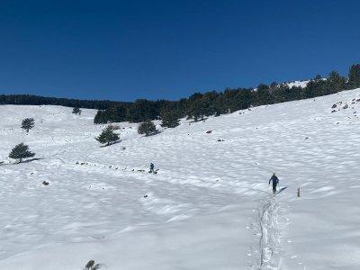 Ruta raquetas de nieve Morrón del Mediodía y fotos