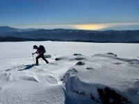 Raquetas de nieve en Granada