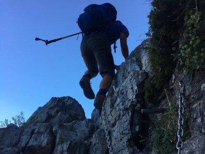 Corso sportivo di arrampicata su roccia con foto Granada