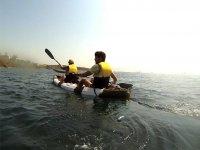 Kayak on the beach of Getares