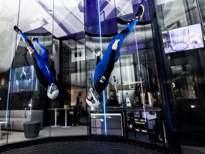 Wind tunnel 2 flights for 2 people Barcelona