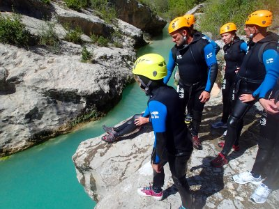 Family canyoning to Viandico ravine 4hrs