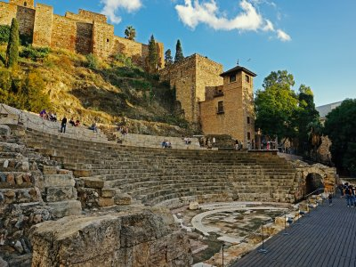 Visita guiada por Málaga con entradas 4 hrs Adulto