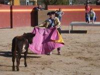 Disfrazado de torero