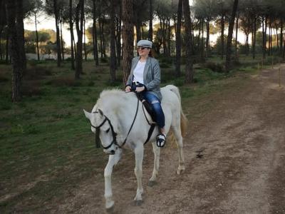 Ruta a caballo por el parque Doñana 2 hrs Niños