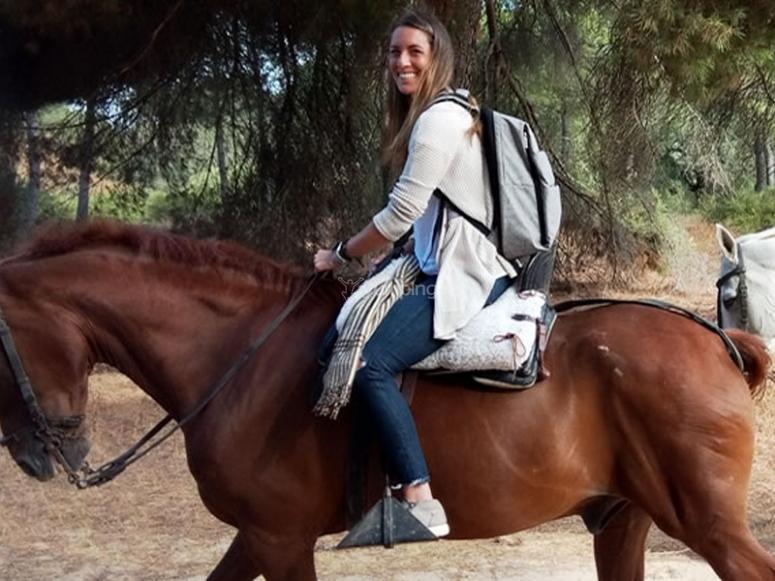 Excursión a caballo por Aljarafe