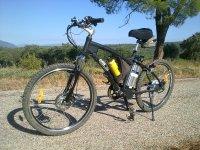 Excursiones con bicicleta electrica de montaña