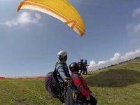 Volo in parapendio Castillo de Monjardín e video