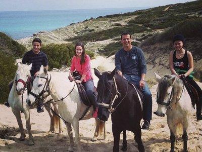 Ruta a caballo por Cala Mesquida en Capdepera 1 h