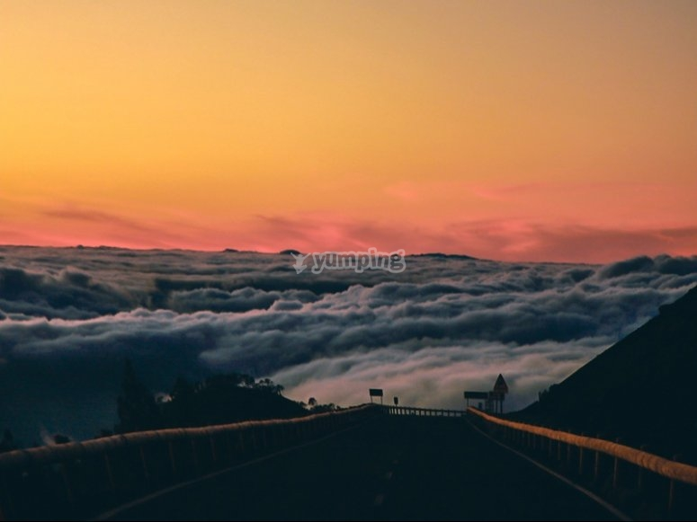 四方路线后欣赏美景