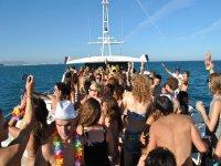 Fiesta en barco Valencia