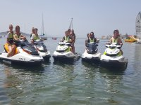 Prepared for the jet ski route in La Manga