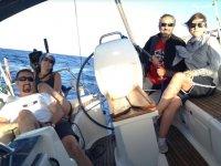 Jornada de navegacion por el Mediterraneo
