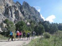 Excursionistas en el Pico Huma