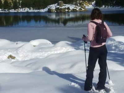 雪鞋路线到Pico La Najarra 4小时