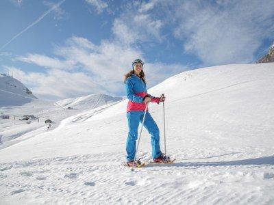 Raquetas de nieve a los Siete Picos en Navacerrada