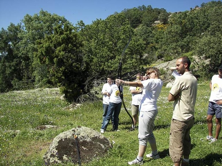Team building en un prado soleado de action live team for Action live paintball madrid oficinas