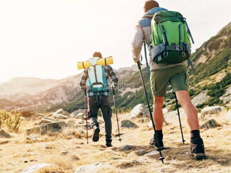 Hiking through the Sierra de Guadarrama