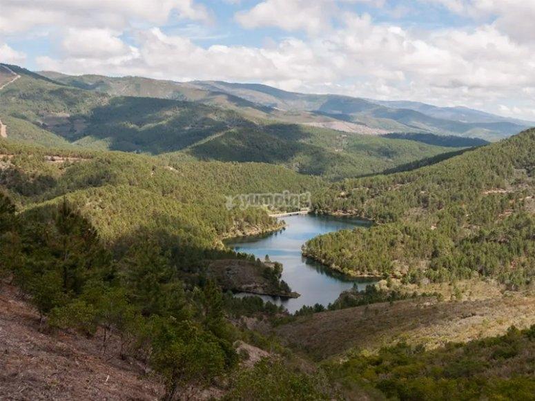 Views of the Embalse de Navacerrada