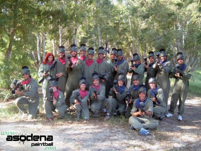 Asodena Paintball Team Building