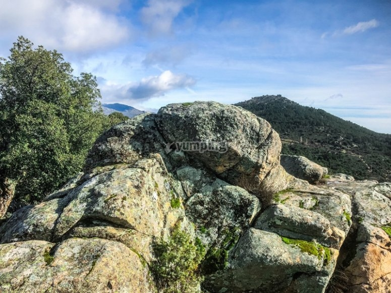Walking through the Sierra de Guadarrama