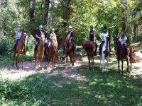 ven a disfrutar de nuestras rutas a caballo