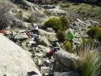 Team building en la montaña