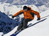 un grande sciatore