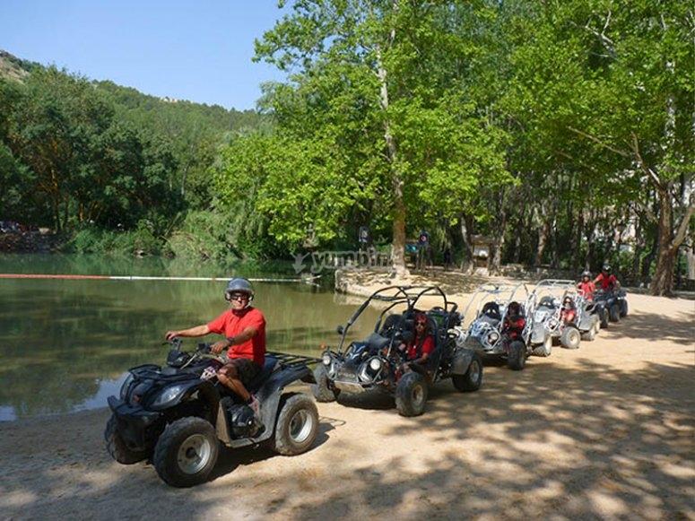 Excursión en quad por el valle de Júcar