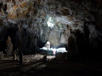 Vista de la cueva