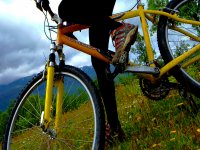percorso in mountain bike