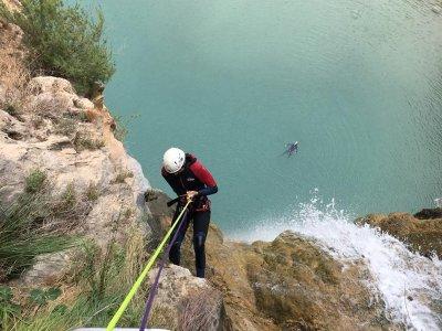 Descenso del barranco Cueva de las Palomas 4 horas