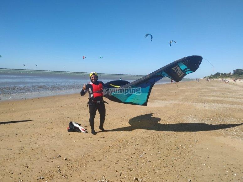 Kitesurf en Cádiz