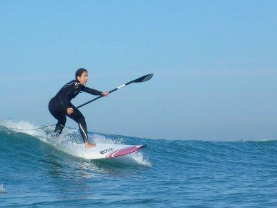 Curso de paddle surf en Sanlúcar de Barrameda 2h