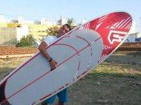 的冲浪课程
