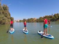 Stand up paddle en el Guadalquivir