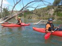 Practicar kayaks en Murcia
