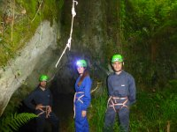 Start of the caving route