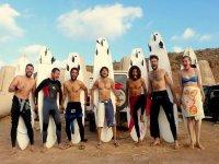 Cursos de surf para todos los grupos
