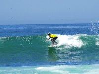 Coger olas en Fuerteventura