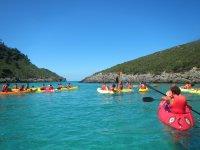 Kayak de mar o de rio
