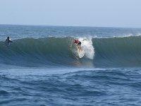 Ejercicios entre las olas