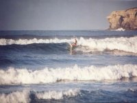 Surf in the pure state