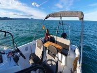 Listos para pasear en barco