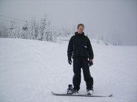 滑雪板启动