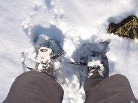 雪中脚--999-冬季郊游