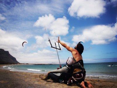 Bautismo de Kitesurf Playa de Famara