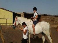 Equestrian camp for Easter in La Laguna